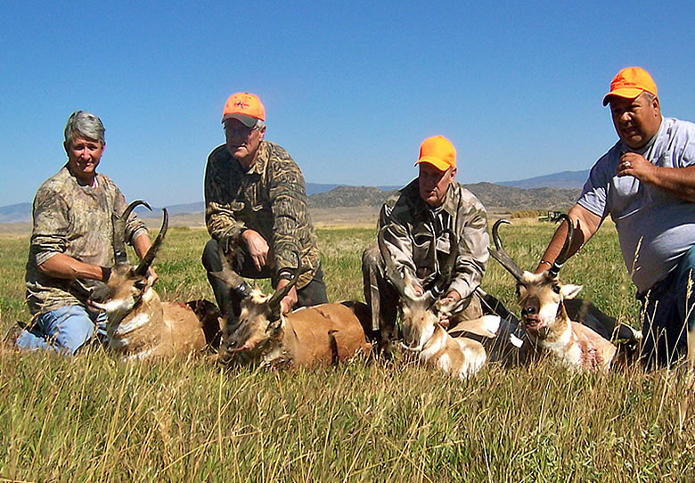 Wyoming Antelope Hunt